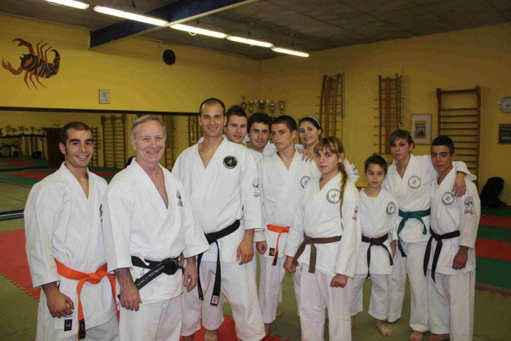 Karate Training Families